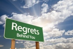 Put those regrets behind you - Color My Life Happy Coaching