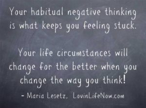 Learn how to pivot the negative thinking to the positive with Maria Lesetz